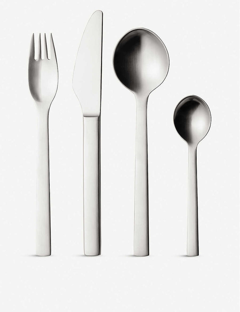 GEORG JENSEN New York 16pcs Stainless Steel Cutlery Set