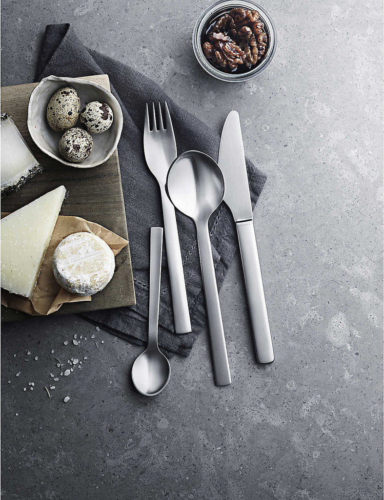 GEORG JENSEN New York 24pc Stainless Steel Cutlery Set