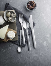 將圖片載入圖庫檢視器 GEORG JENSEN New York 24pc Stainless Steel Cutlery Set