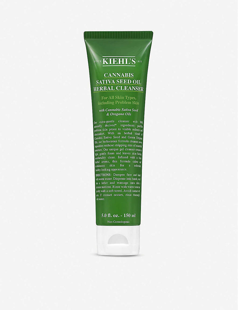 KIEHL'S Cannabis Sativa Seed Oil Herbal Cleanser 150ml