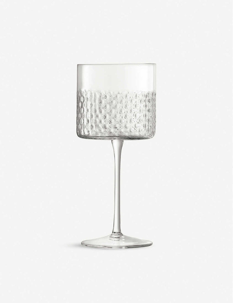 LSA Wicker Glass Wine Glasses Set of Two