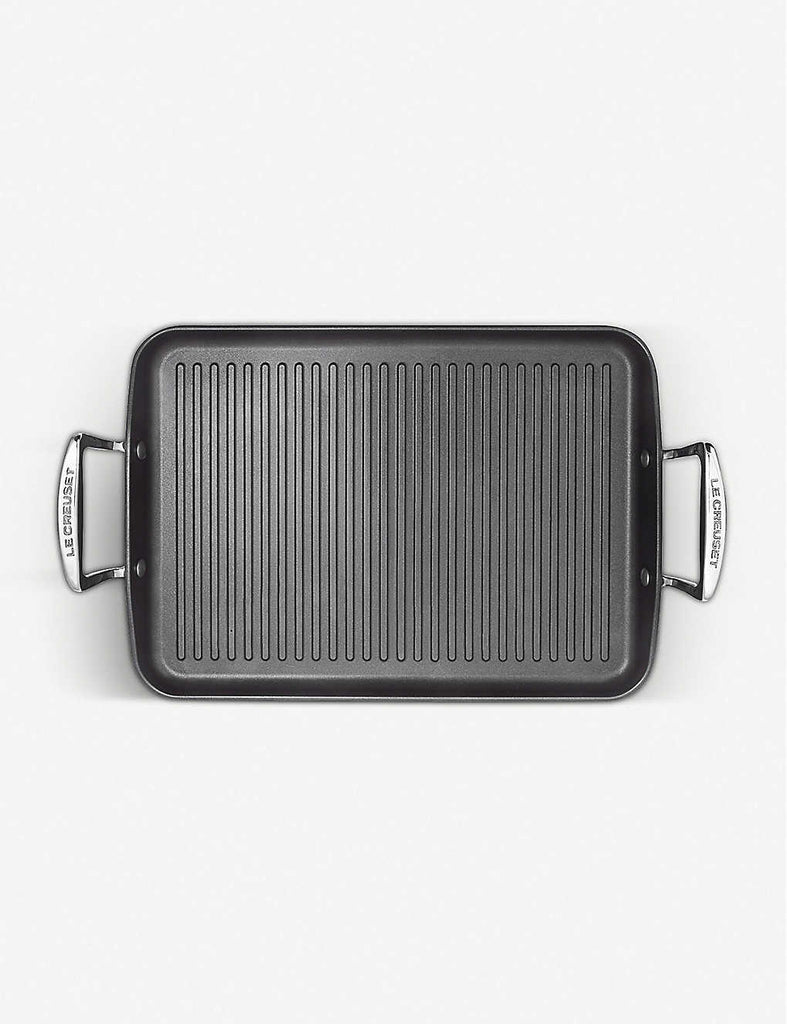 LE CREUSET Toughened Non-Stick Ribbed Rectangular Grill 35cm x 25cm