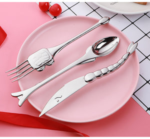 Fish Themed Cutlery Set
