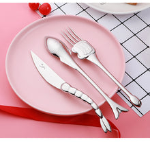 Load image into Gallery viewer, Fish Themed Cutlery Set