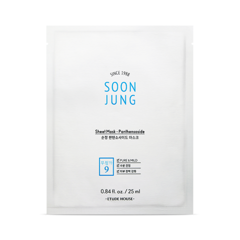 Soon Jung Sheet Mask-Panthensoside 25ml