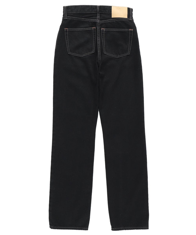 asymmetry belt straight denim - CISLYS