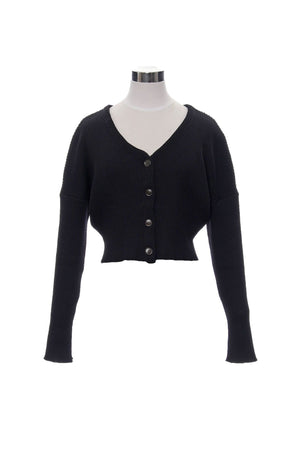 Cropped lib cardigan