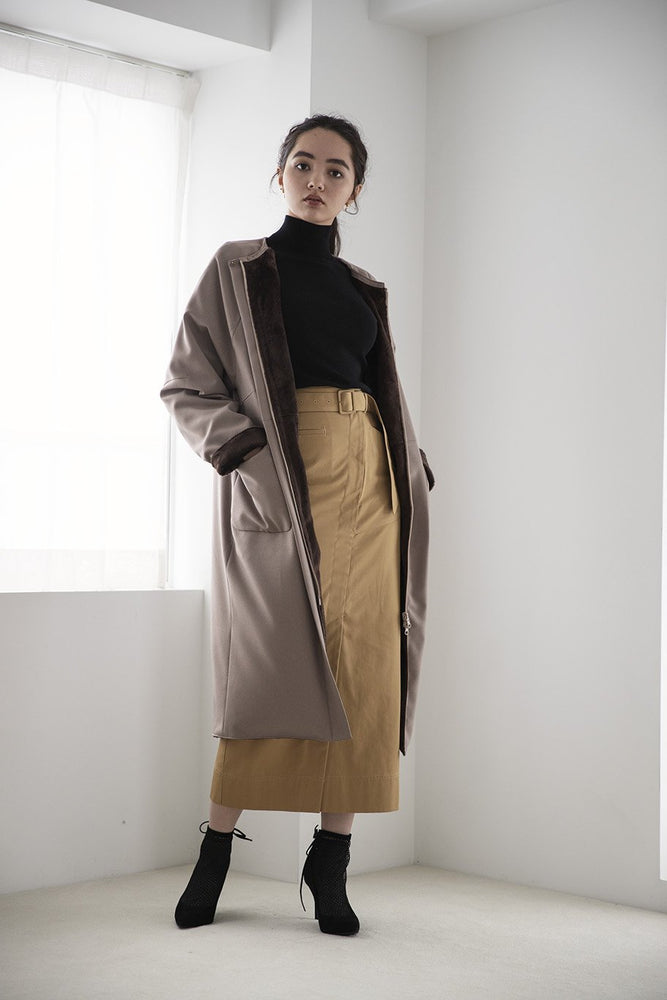 reversible cocoon coat - CISLYS