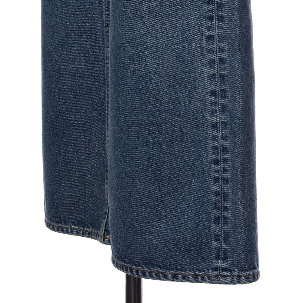 Slim flare hight waist denim - Blue - CISLYS