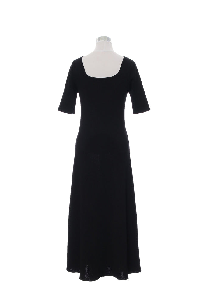 SQUARE NECK LINE DRESS SS - CISLYS