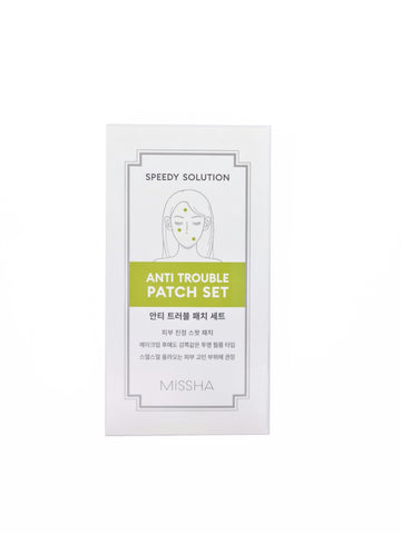 MISSHA - Speedy Solution Anti-Trouble Patch Set (8 Blatt) - Seoul Maid
