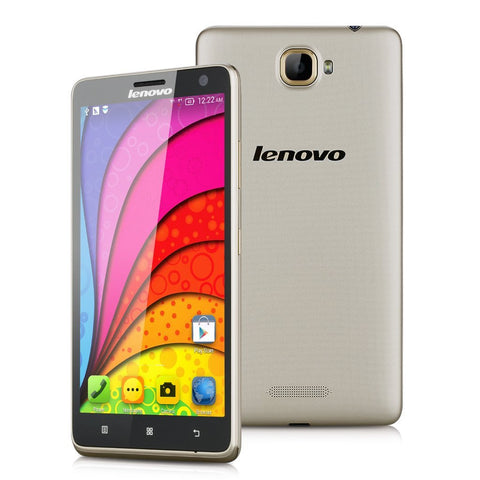 Lenovo S856 Silver / Gold 5.5inch Android 4.4 Quad Core 8GB 1GB RAM 4G -LTE Bluetooth Dual SIM 8MP