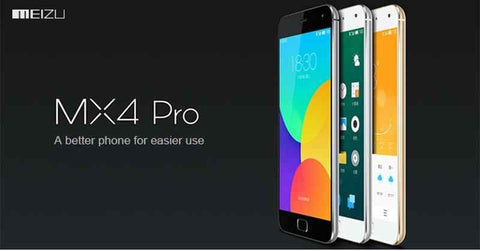 MEIZU MX4 PRO 32GB GREY 5.5 inches Android 4.4 Exynos5430 Octa Core@2.0GHz 3GB RAM 20.7MP Camera NFC HiFi Fingerprint ID