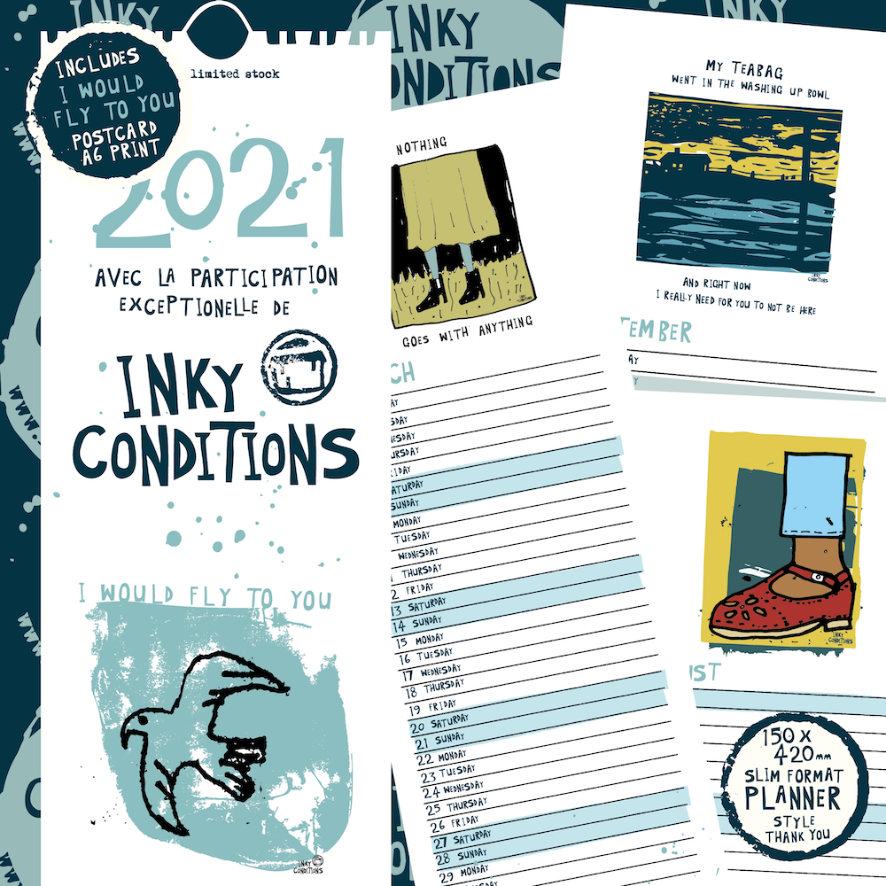 Inky Conditions 2021 Calendar
