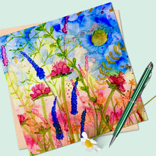 Load image into Gallery viewer, Wild Garden Collection Square Blank Cards
