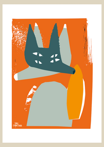 Inky Fox Orange