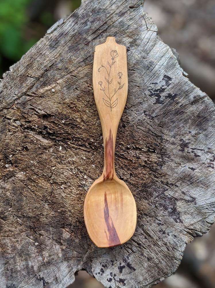 Hawthorn Eating Spoon
