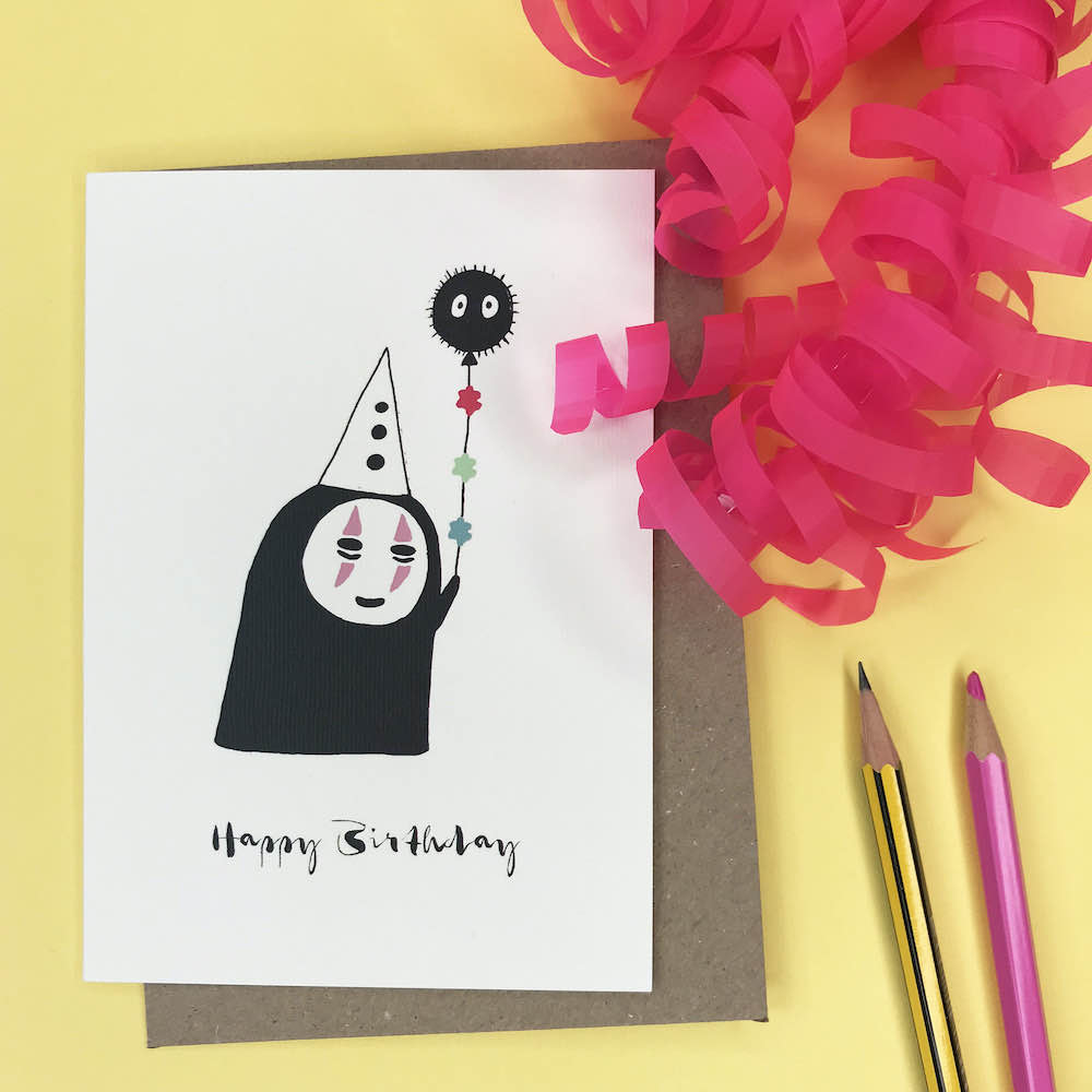 Happy Birthday – A6 Greetings Card