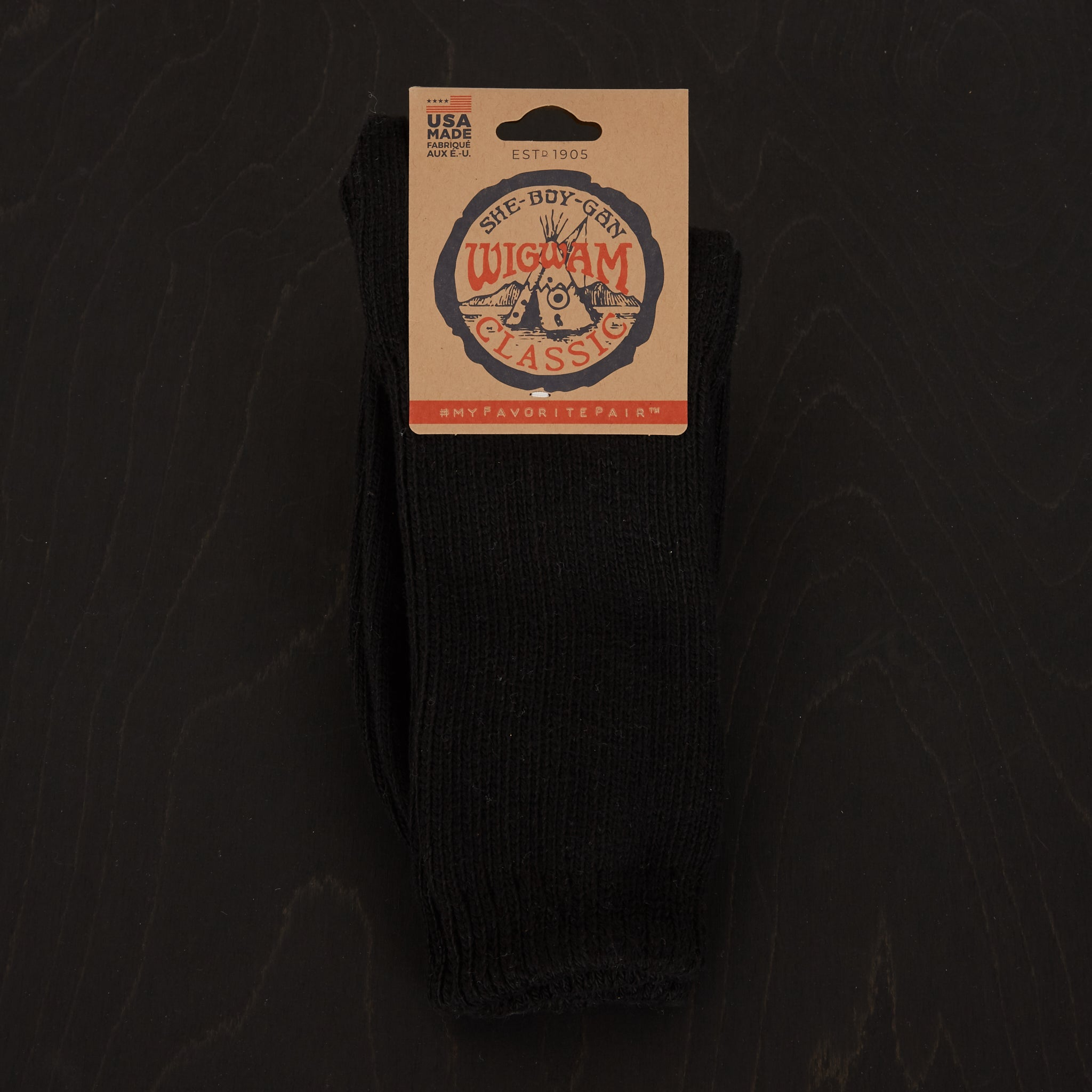 Wigwam Master Socks Black