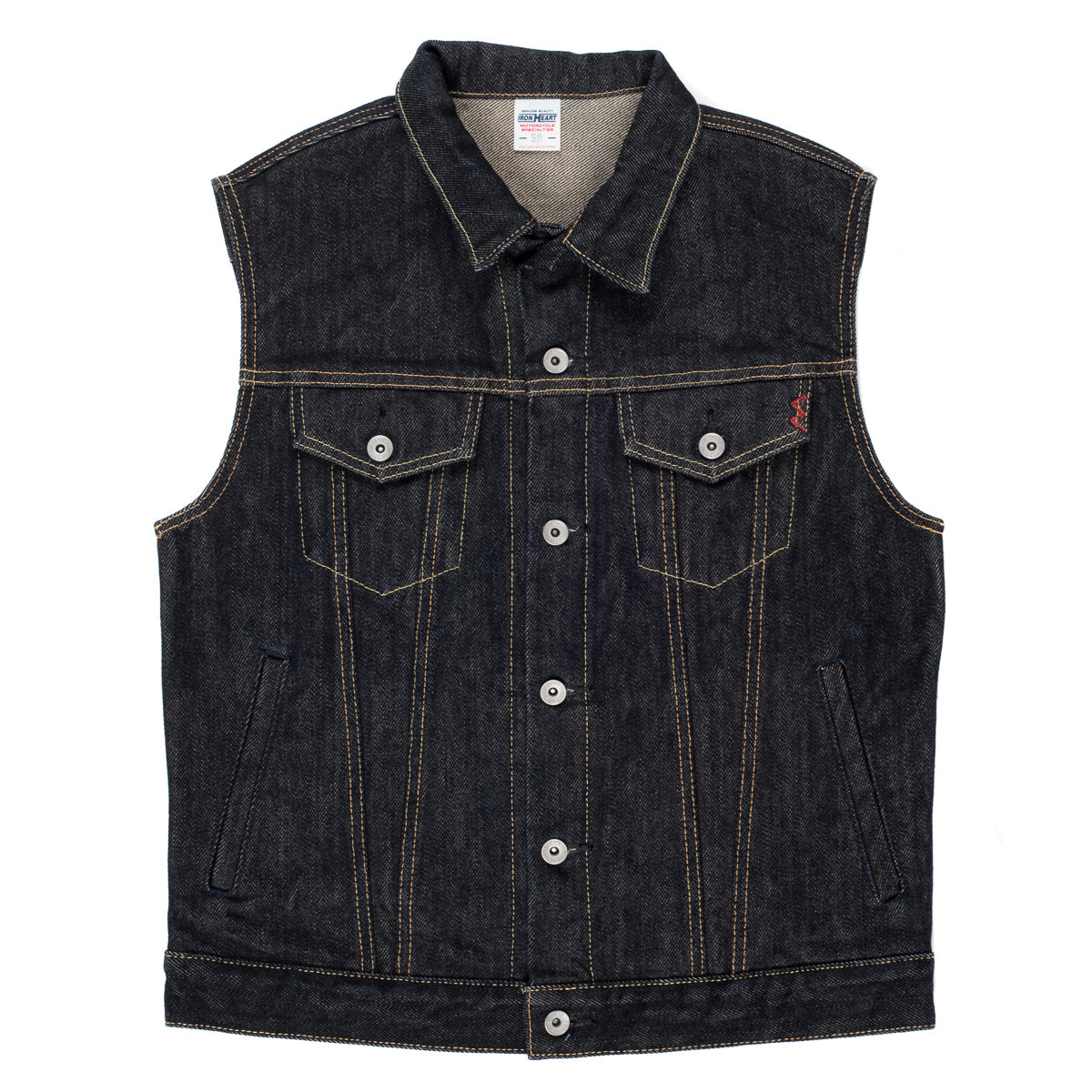 IH-526SV - 21oz Denim Modified Type III Vest