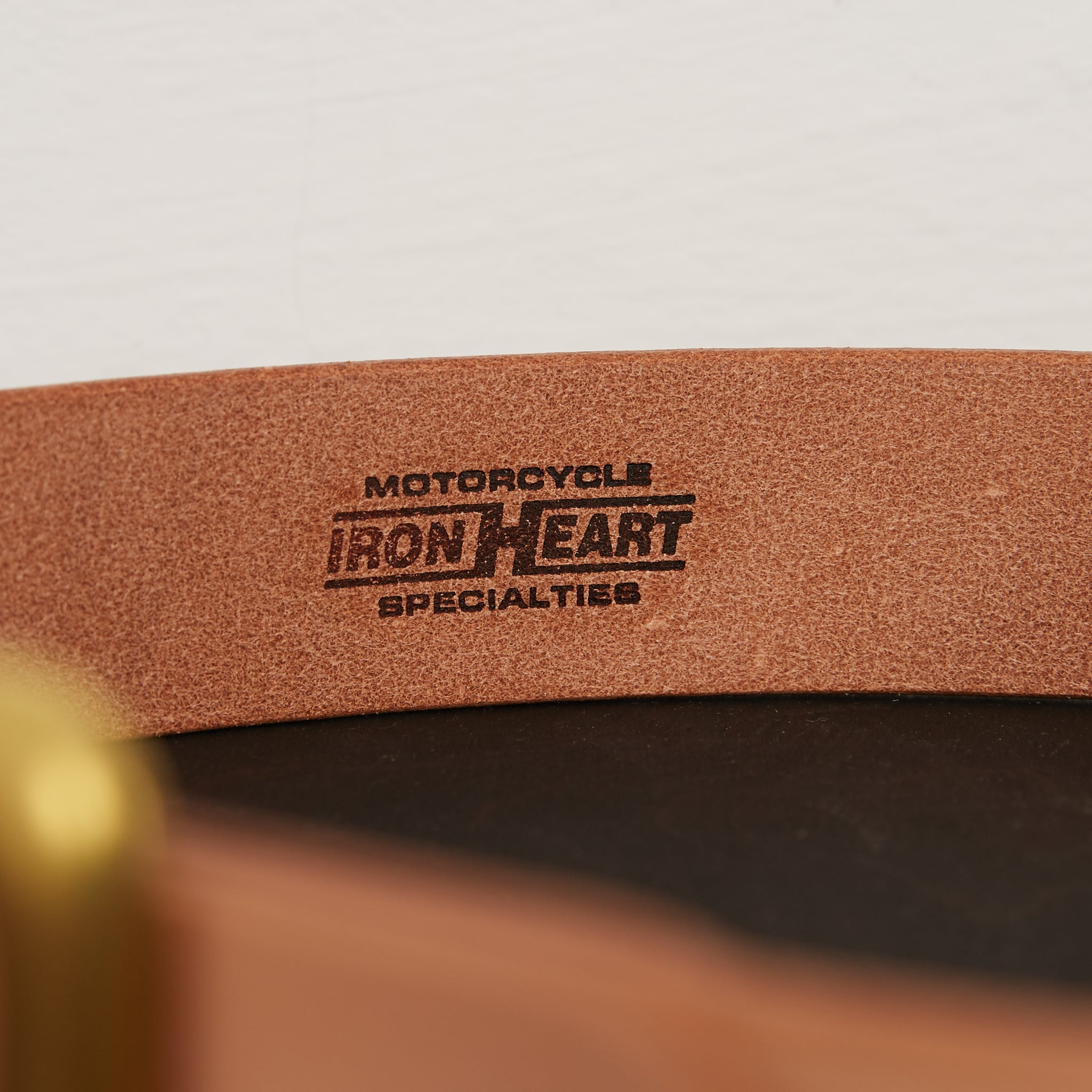 IHB-07 Heavy Duty Leather Belt Natural