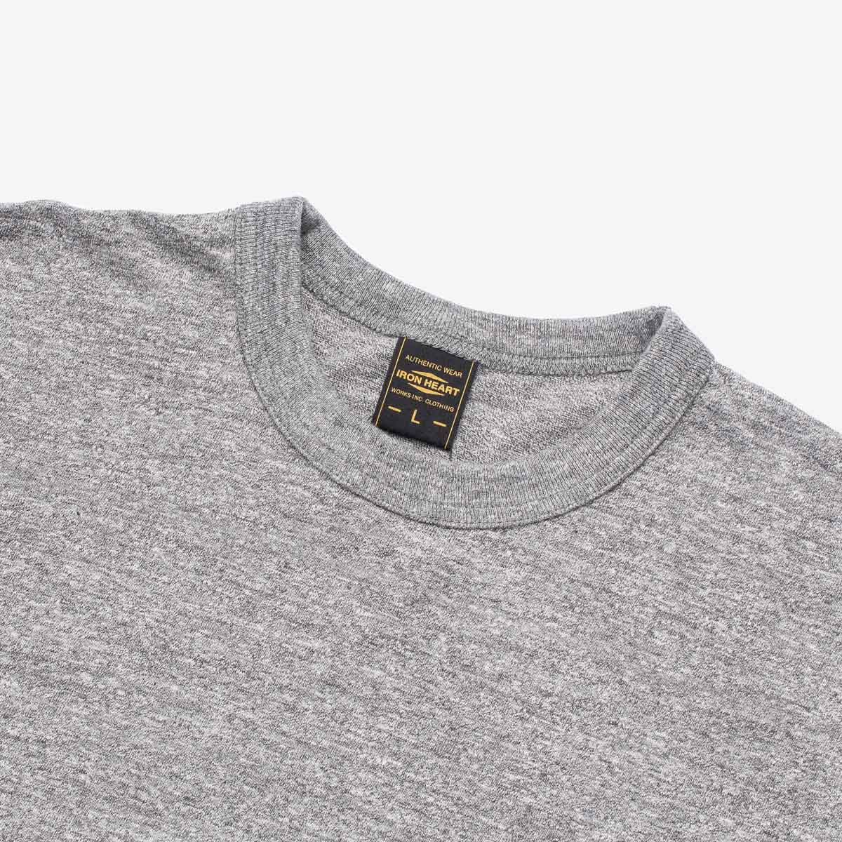 IHT-1610L - 6.5oz Basic T-Shirt Grey