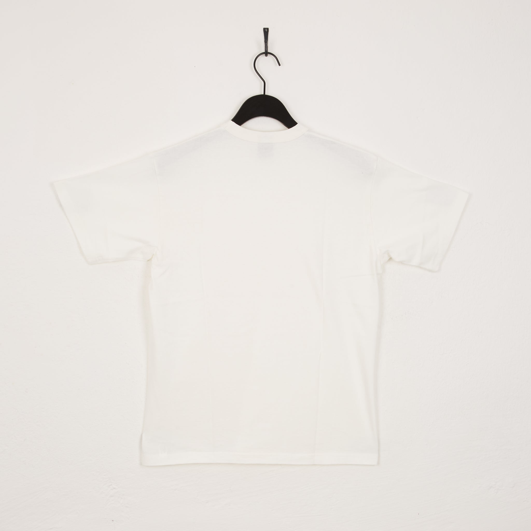 IHT-1610 - 6.5oz Loopwheel Crew Neck T-Shirt White