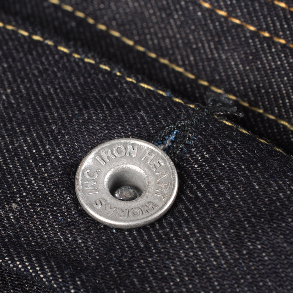 IH-526J-142 - 14oz Selvedge Denim Modified Type III Jacket Indigo