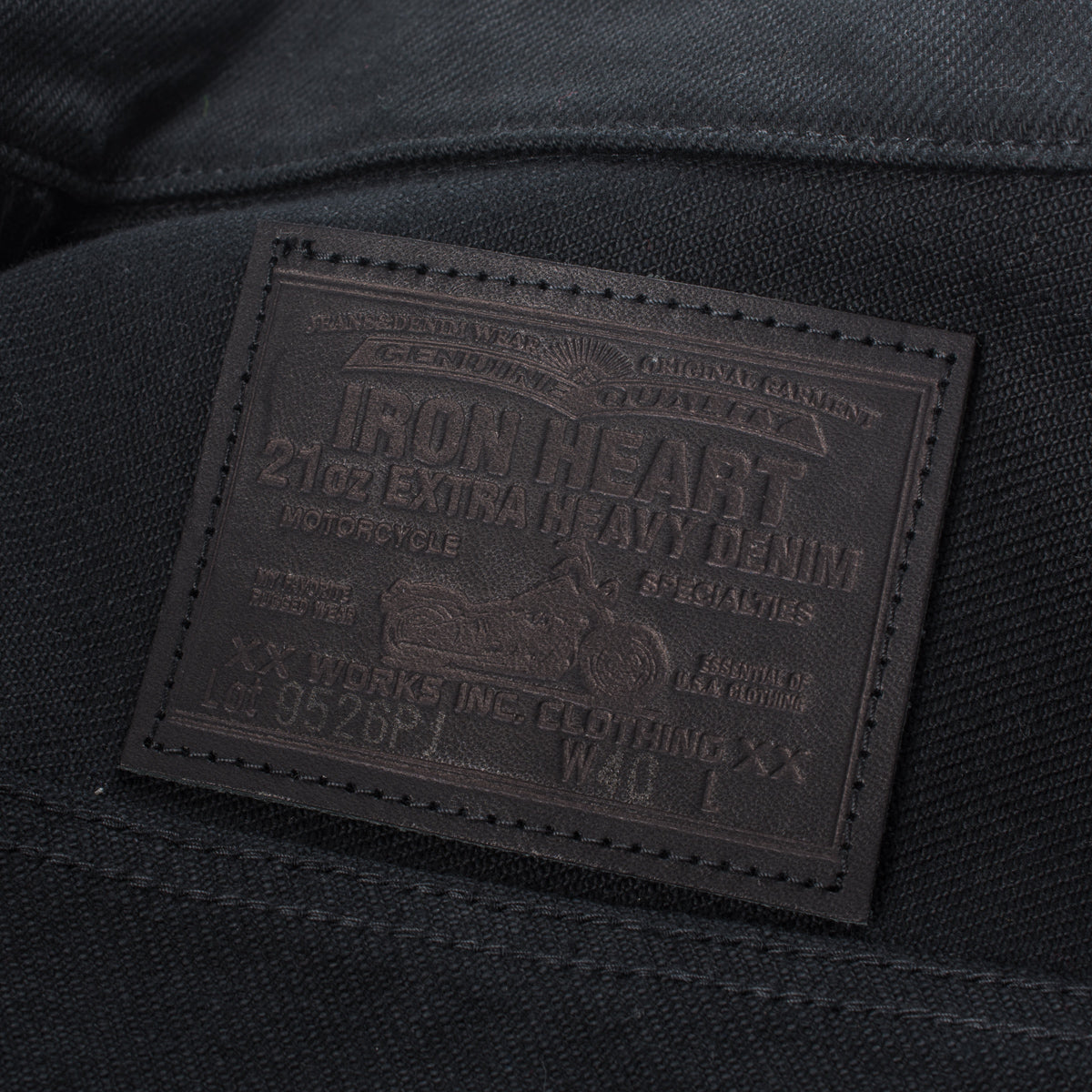 IH-9526PJ - 21oz Denim Type III Jacket Superblack