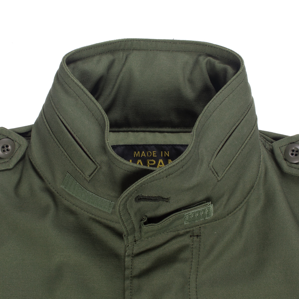 IHM-27-OLV - Sateen M65 Field Jacket Olive