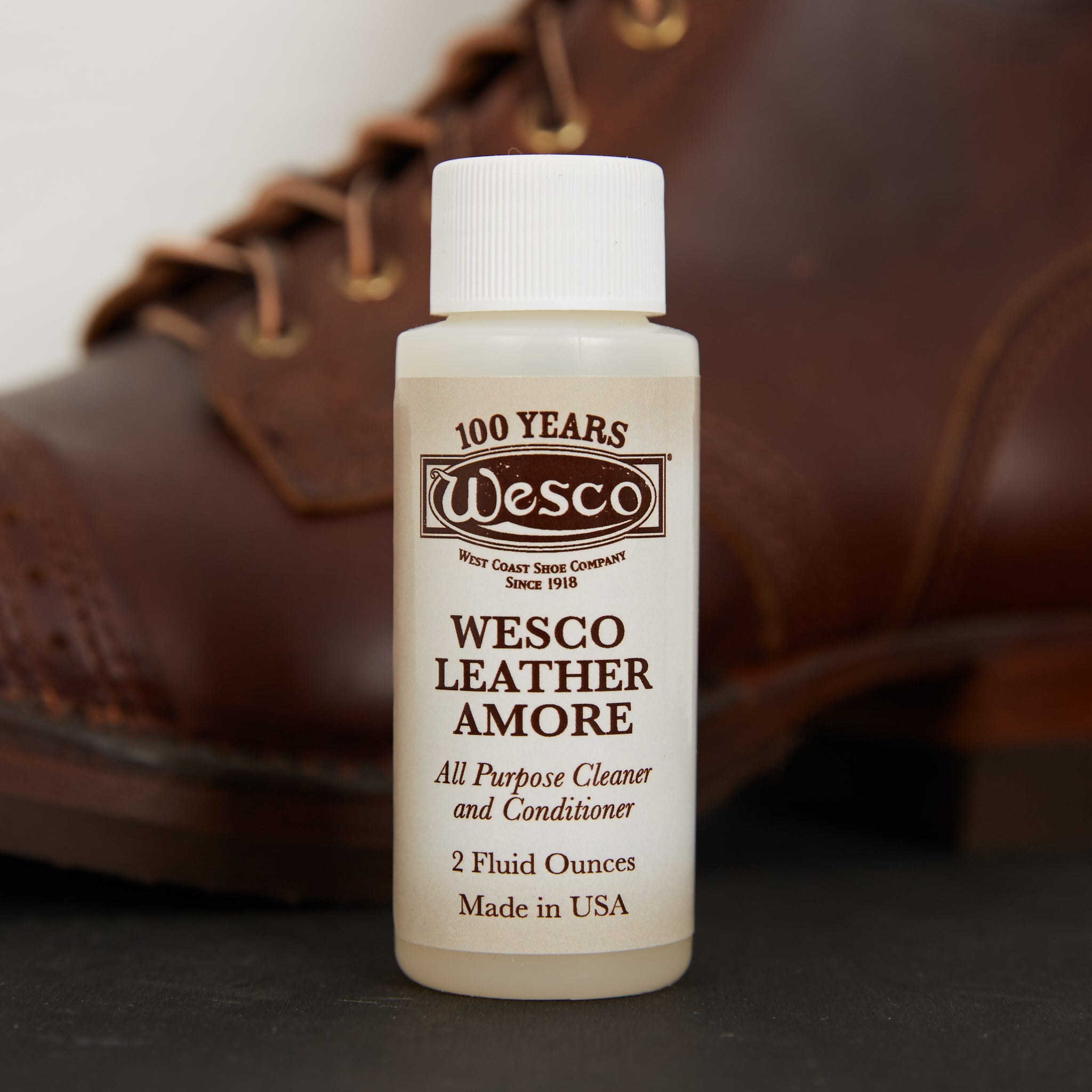 Wesco Leather Boot Dressing Leather Amore