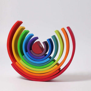 Large Montessori Wooden Rainbow