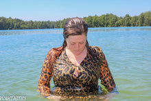 Load image into Gallery viewer, Jacqueline Cougar Dress Swim