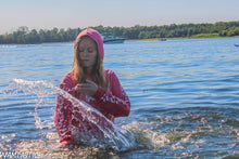 Load image into Gallery viewer, Leah Gabrielle Goes for a Hooded Swim