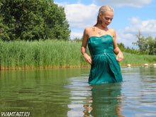 Load image into Gallery viewer, Kyra's Green Partydress