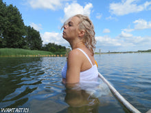 Load image into Gallery viewer, Kyra Sunny, White and Wet!