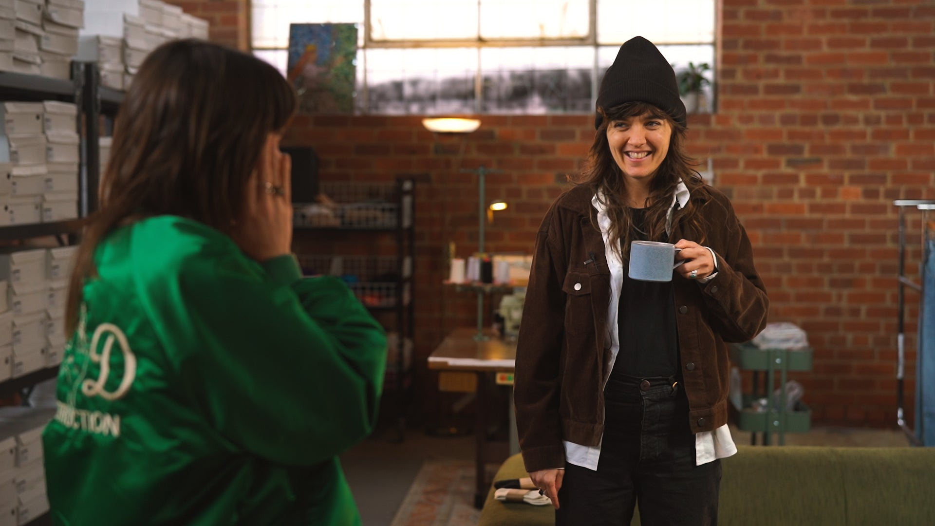 Courtney Barnett on Coffee with a creative presented by Noskin