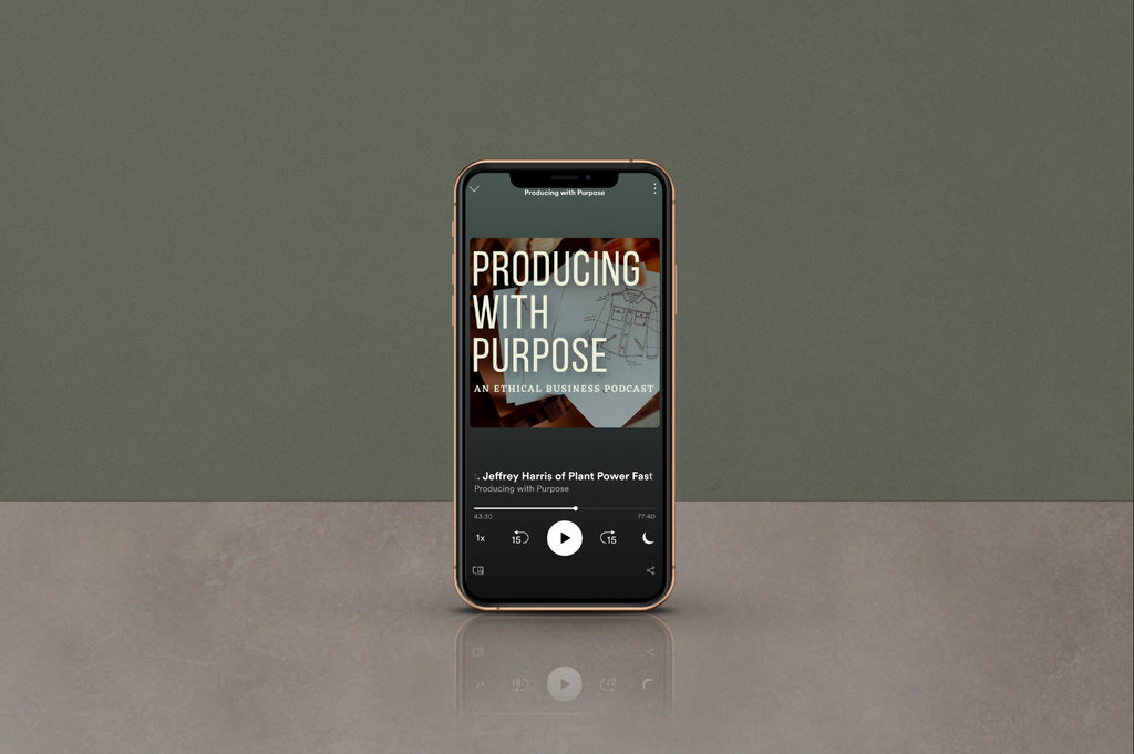 Producing with Purpose Episode 10 feat. Jeffrey Harris of Plant Power