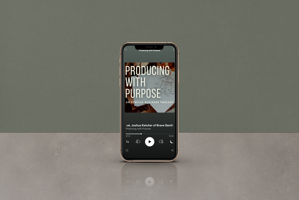 Joshua Katcher on Producing with Purpose podcast