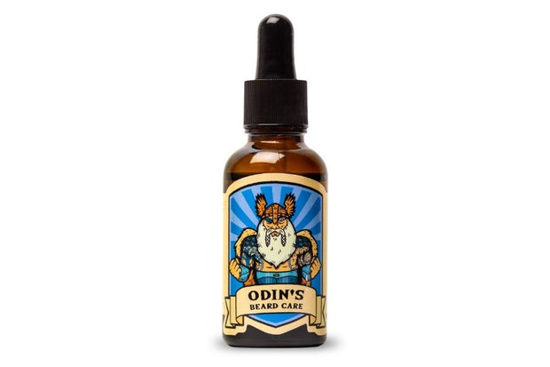 Odin Beard Oil -Sweet Rum, Cognac & Cigar, Patchouli, Black pepper, Cedar wood,30 ml