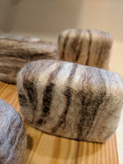 Felted Goat Milk Soap