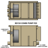 Burtons BD-150 Combi Pond Drum Filter