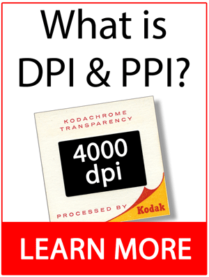 Learn about resolution DPI PPI
