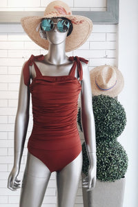 Twiggy Shirred Monokini