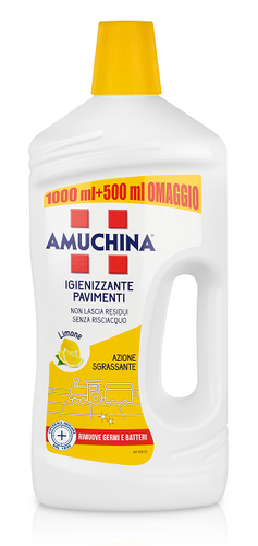 Amuchina Pavimenti Fragranza Limone 1000+500 ml - Miriade Shop