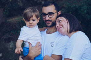 H/F T-shirt bio Family first unisex Planet