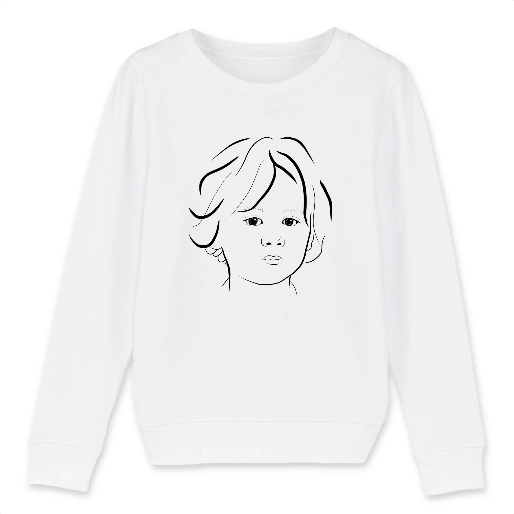 Sweat-shirt Enfant Babylovebody x Koklyqo