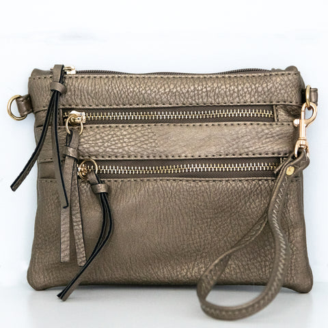 Pewter Crossbody