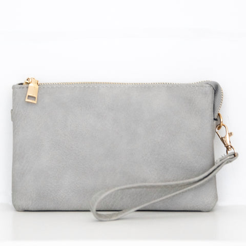 Light Grey Crossbody (No tassels)