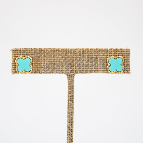The Christina Earring (Aqua)